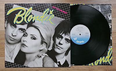 BLONDIE Eat To The Beat LP German 1st 1979 1Y/2Y Chrysalis 6307661 Inner EX++/EX
