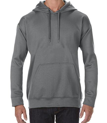 Tech Hooded Sweatshirt LUXURY HOODY GILDAN PERFORMANCE HOODIE 4 Colours