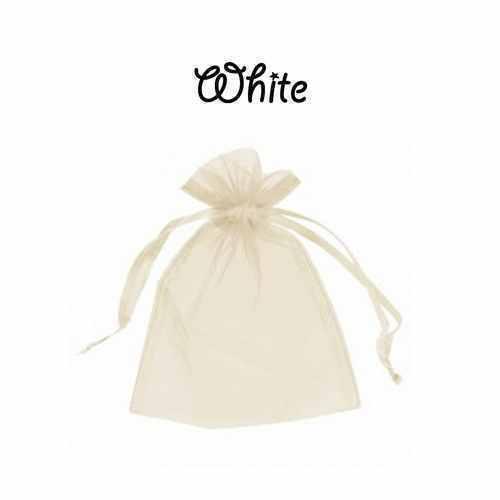 500 x Organza Cadeau Faveur Nuptiale Sac Bijoux étui 23 Couleurs /& 10 Tailles