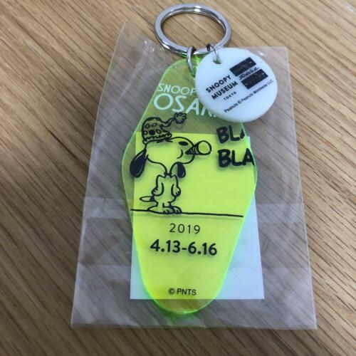 Snoopy Museum TOKYO Tour Exhibition OSAKA Limited Peanuts Acrylic Keyring Chain