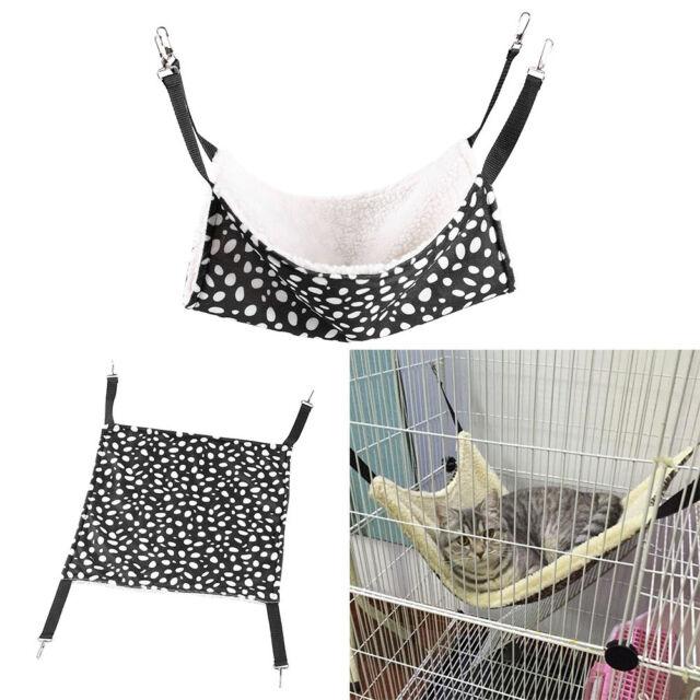 Polyester Pet Rat Rabbit /Ferret Chinchilla/Cat Hammock Bed Cover Bag!