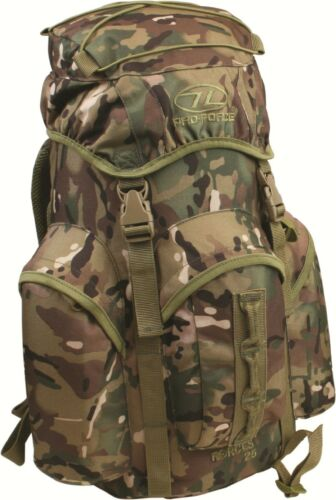 Military Outdoors Rucksack Daysack Backpack 25L Tough Lightweight Forces 25