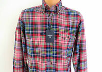 GANT Callicoon Twill Check button-down Shirt in cotton Pink Multi