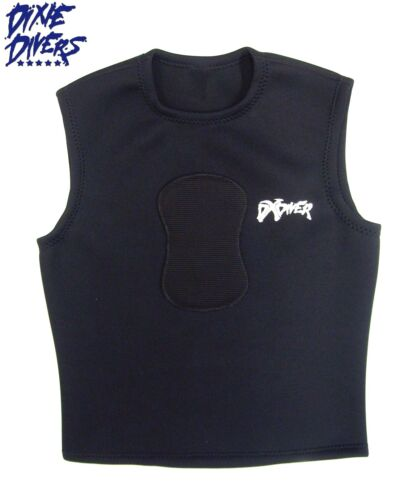 DXDIVER 2mm Neoprene Spearfishing Vest Chest Load Pad Freediving Scuba Diving MD