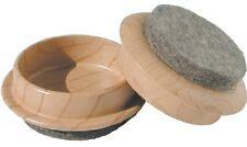 Shepherd Hardware 9363 1-3/4-Inch FeltGard Furniture Cups, 4-Pack