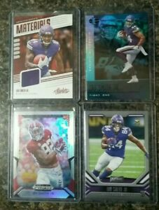 Irv Smith Jr Rookie Patch, Laquon Treadwell Patch RC /99 +5 RC Minnesota Vikings