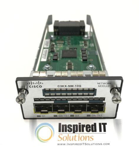 C3KX-NM-10G Cisco Expansion Module for 3560X 3750X 3K-X 2-Port 10G