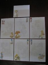 Holly Hobbie STATIONARY set paper mini letterhead envelopes vintage