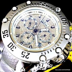 Invicta Subaqua Noma VII 1.57CTW Diamond Swiss Stainless Steel 52mm Watch New