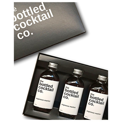 Bottled Cocktail Co. Espresso Martini 3-pack by Cocktail Kit