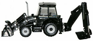 RSM-6521-Case-590-Super-R-Tractor-Loader-Backhoe-Black-1-87-HO-Scale-MIB