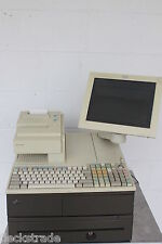 IBM 4694-347 Complete POS Point of Sale System LCD Printer Cash Drawer NICE