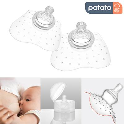 Silikon Nippel Schild Baby Muttermilch Feed Still Schnuller Schutzhülle