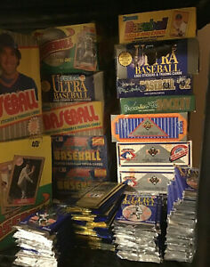 1977-Now-LOT-100-Baseball-50-cards-Sealed-Packs-50-cards-Mystery-MAD