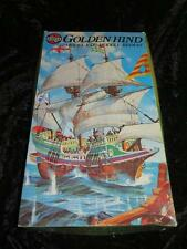 AIRFIX Series 9 Model Ship Kit GOLDEN HIND Unmade in Type 5 Box 1970s