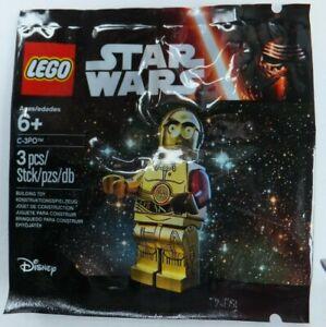 * C-3po Rouge Bras * Lego Star Wars Figurine * Flambant Neuf, Scellé Polybag * Prix ModéRé