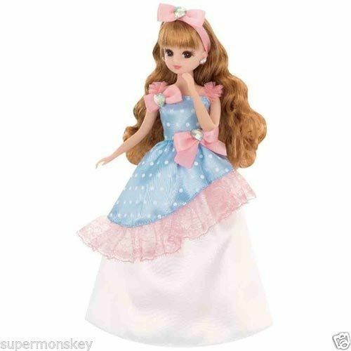 TAKARA TOMY JAPAN LICCA DOLL LD-03 COLORFUL DRESS LA80212