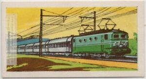 French-Railways-034-Le-Mistral-034-Paris-to-Riviera-Express-Vintage-Ad-Trade-Card