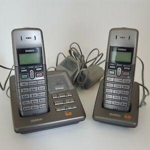 Uniden-Dect-1080-2-Dect-6-0-Cordless-Phone-Bundle-Pack-2-Handsets-Tested-working