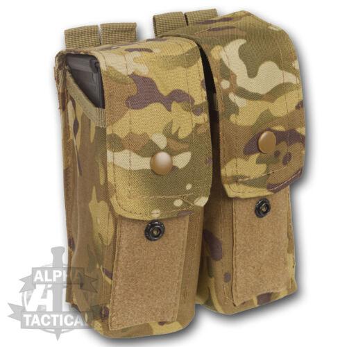 Mtp multicam molle double mag pochette armée britannique osprey militaire munitions