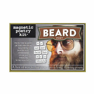 Beard-Poet-Fridge-Magnet-Set-Poetry