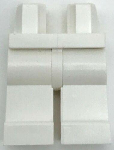 Lego New White Minifigure Hips and Legs Plain White Boy Girl Pants City Piece
