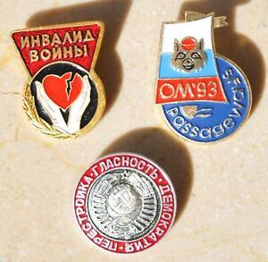 Soviet badge Russian pin Collectible badge enamel pin USSR medal