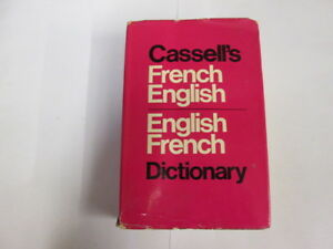 Good-Standard-French-English-English-French-Dictionary-Girard-Denis-et-al