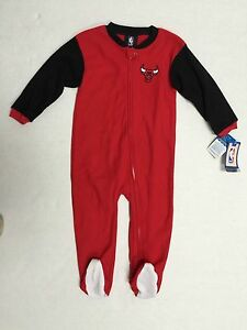 Chicago Bulls NBA Team Apparel infant official Sleeper