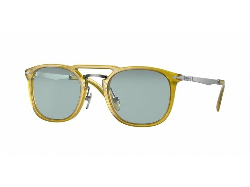 Brand New Persol Sunglasses PO3265S 204/56 honey blue Unisex
