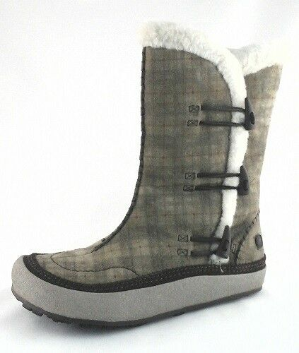 MERRELL Spirit Tibet Plaid Thinsulate Womens Winter Snow Boots US 7.5 $165