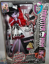 NIB MONSTER HIGH DOLL FRIGHTS CAMERA ACTION OPERETTA HAUNTLYWOOD *IN HAND*