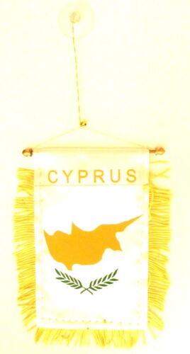 Cyprus Flag Cyprus Mini Banner
