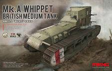 Meng 1:35 WWI British Medium Tank Mk.A Whippet - Plastic #TS021