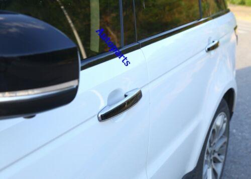 1:1 Replace Chrome+Black Door handle Cover trim For land Range Rover sport L494
