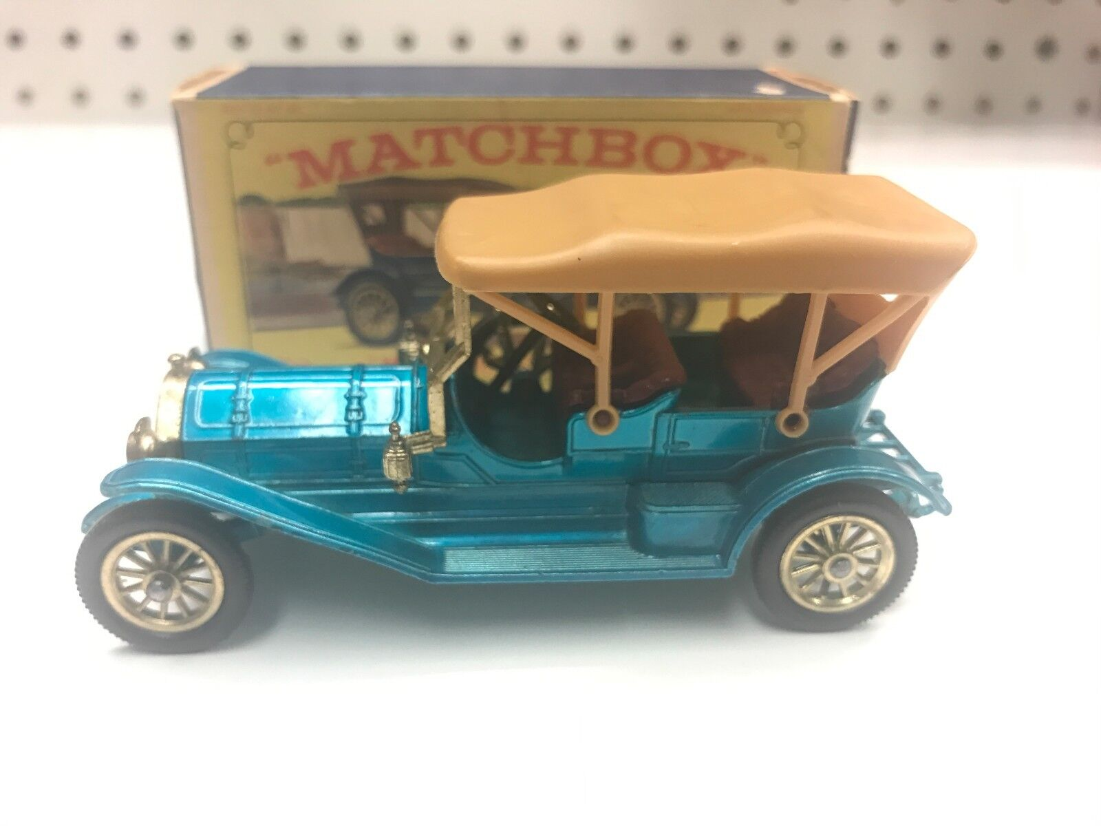 Matchbox Lesney 1909 Thomas Flyabout Y-12