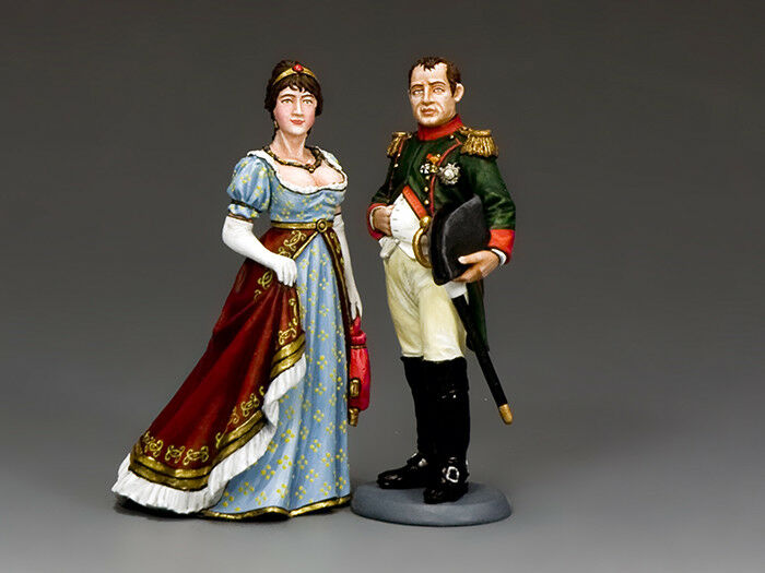 NA414 Napoleon & Josephine by King & Country