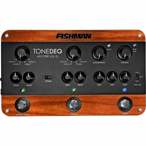 fishman tonedeq equalizer guitar effect pedal for sale online ebay. Black Bedroom Furniture Sets. Home Design Ideas