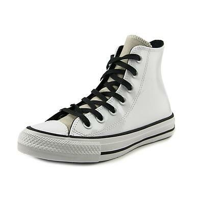 Converse Chuck Taylor All Star Leather Hi   Round Toe Patent Leather  Sneakers