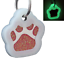 Glitter-Paw-Print-Pet-ID-Tags-Custom-Engraved-Dog-Cat-Tag-Personalized thumbnail 25