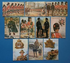 Collection-of-10-NEW-Postcards-Military-Art-Painting-by-Harry-Payne
