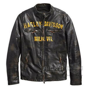 Di 97006 18vm Pelle Giacca Orig Harley Forge davidson 1903 zwtqRS