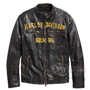 Pelle Harley 1903 Orig 18vm Giacca Di davidson 97006 Forge qgwqZI1