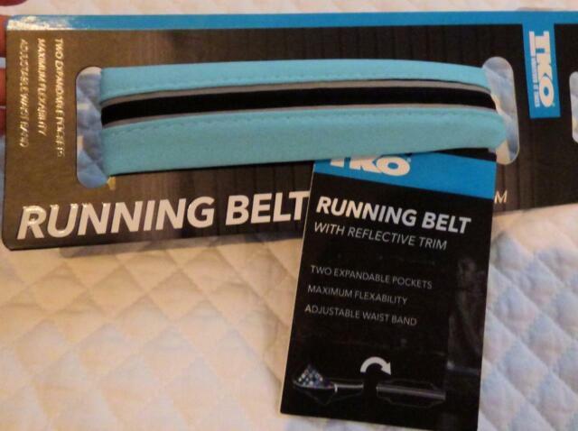 $20.00 TKO Running Belt with Reflective Trim