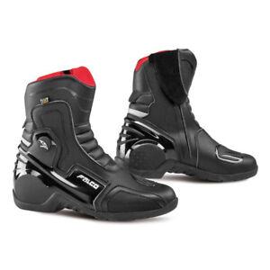 Falco-Axis-2-1-Black-Mens-Motorbike-Motorcycle-Waterproof-Short-Boots