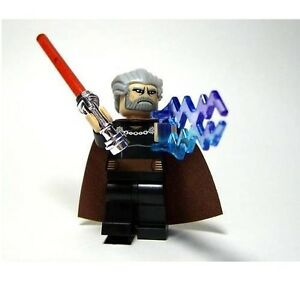 lego star wars figurine mini fig minifigs minifigurine dooku 7752 9515 courbe