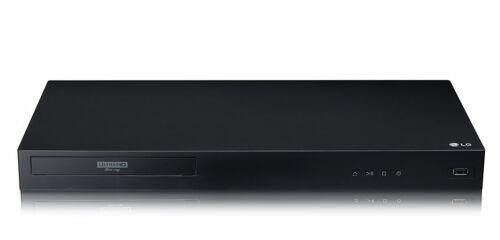 LG UBK80 4K Blu-ray Player