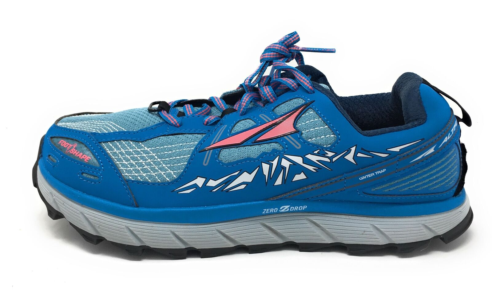 Altra Women's TIMP Trail Running shoes, bluee - 7.5 B(M) US - USED