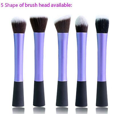 Suave Cepillo Pincel Brocha De Fundación Polvo Maquillaje Cosmético 5Formas Pro
