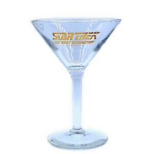 Star-Trek-Rare-The-Next-Generation-TNG-Series-Vintage-Cocktail-Glass-c-1999